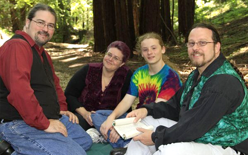 An equilateral triad family from the San Francisco area was recently ...